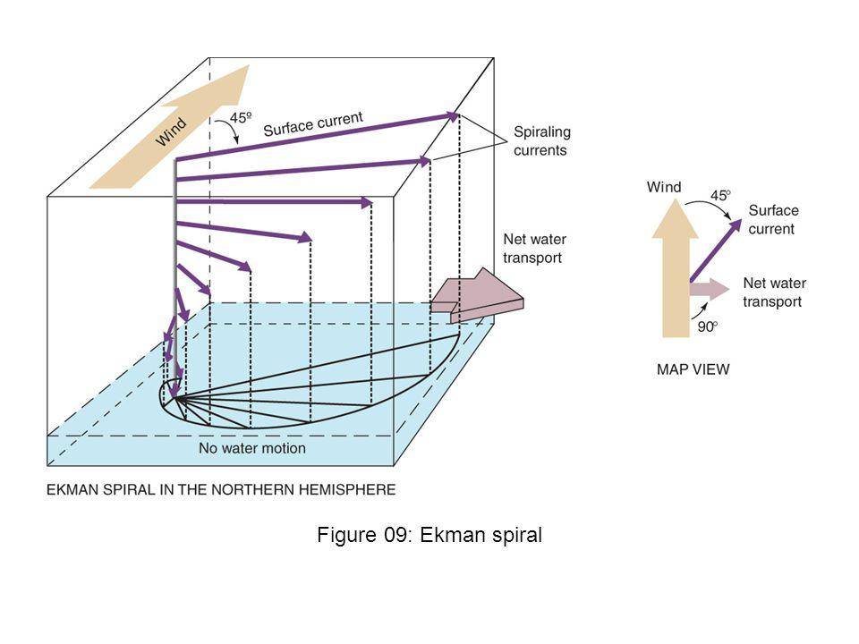 Figure 09: Ekman spiral