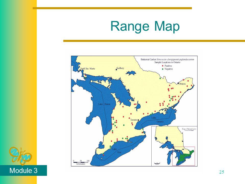 Module 3 25 Range Map