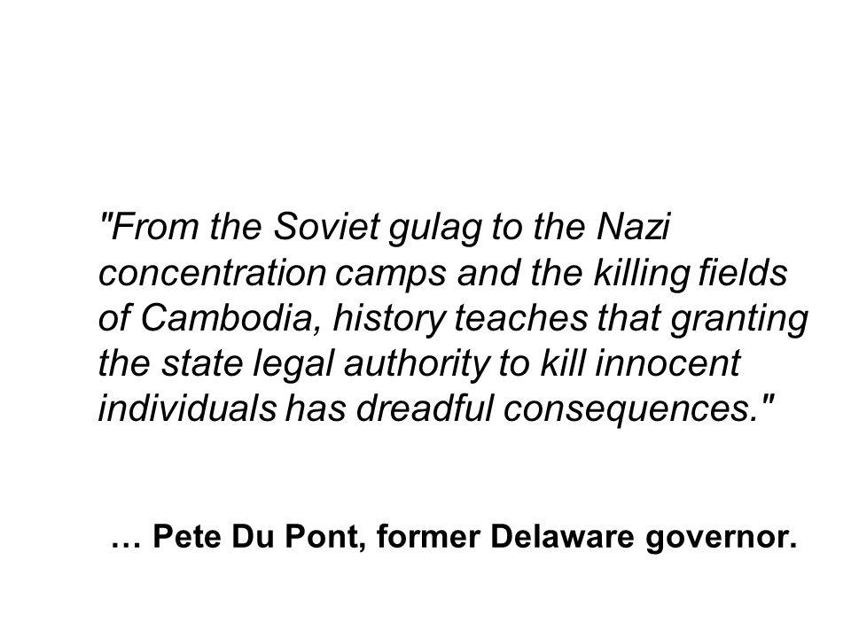 … Pete Du Pont, former Delaware governor.