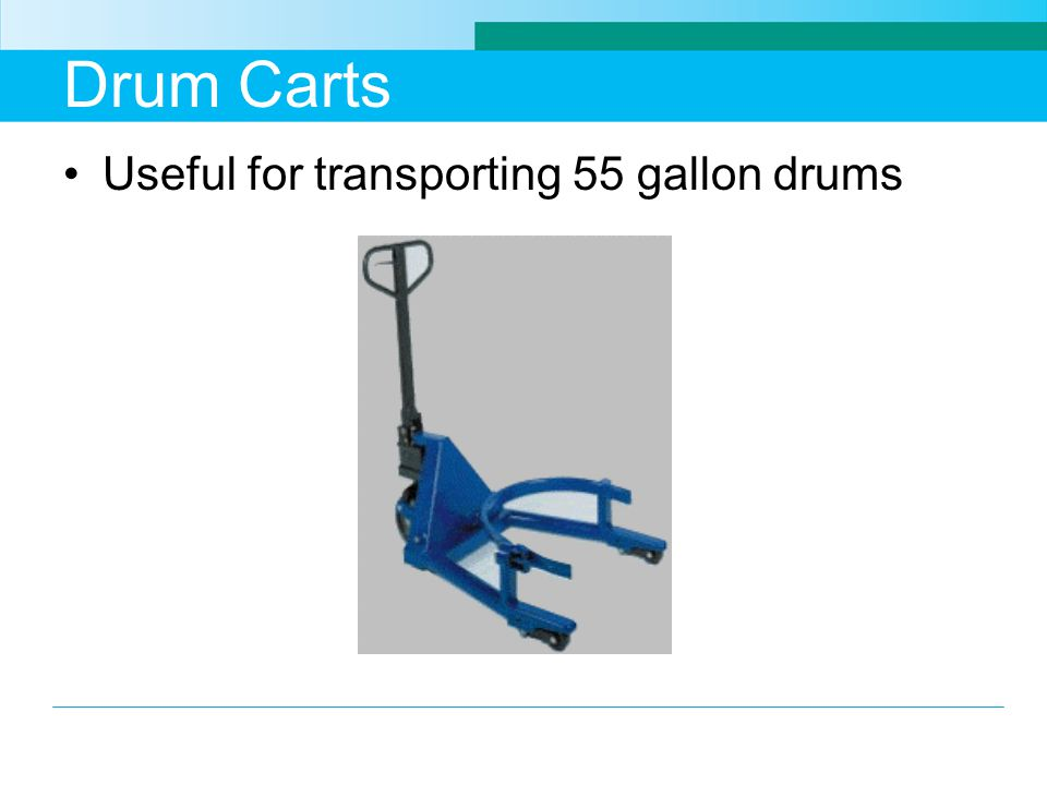 Drum Carts Useful for transporting 55 gallon drums