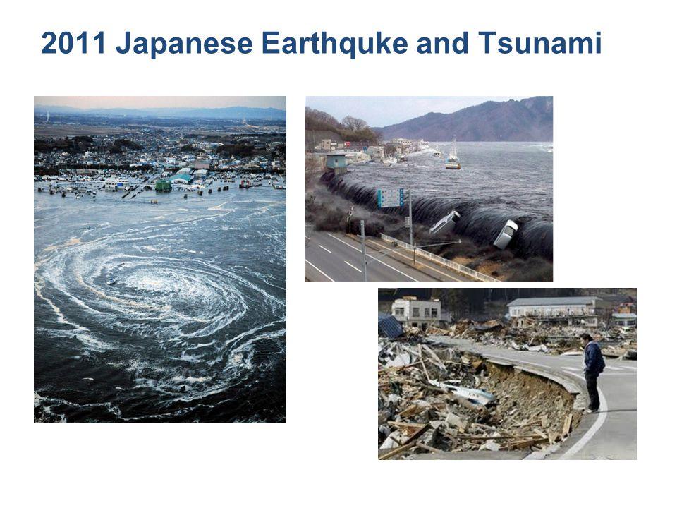 2011 Japanese Earthquke and Tsunami