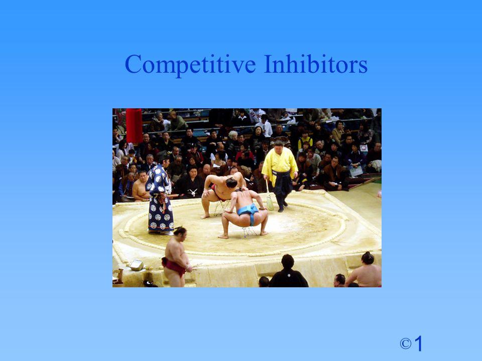 1 © Competitive Inhibitors