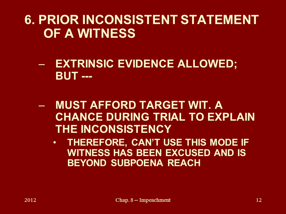 2012Chap. 8 -- Impeachment12 6.