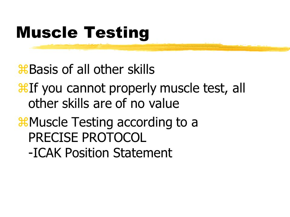 What is muscle testing.zAtrophy vs.