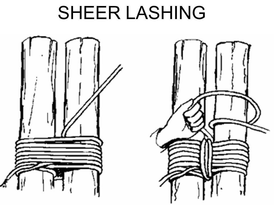 SHEER LASHING