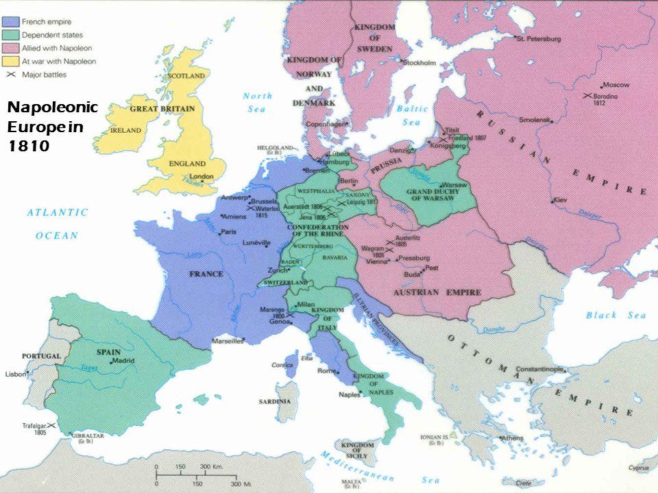 Napoleonic Europe in 1810