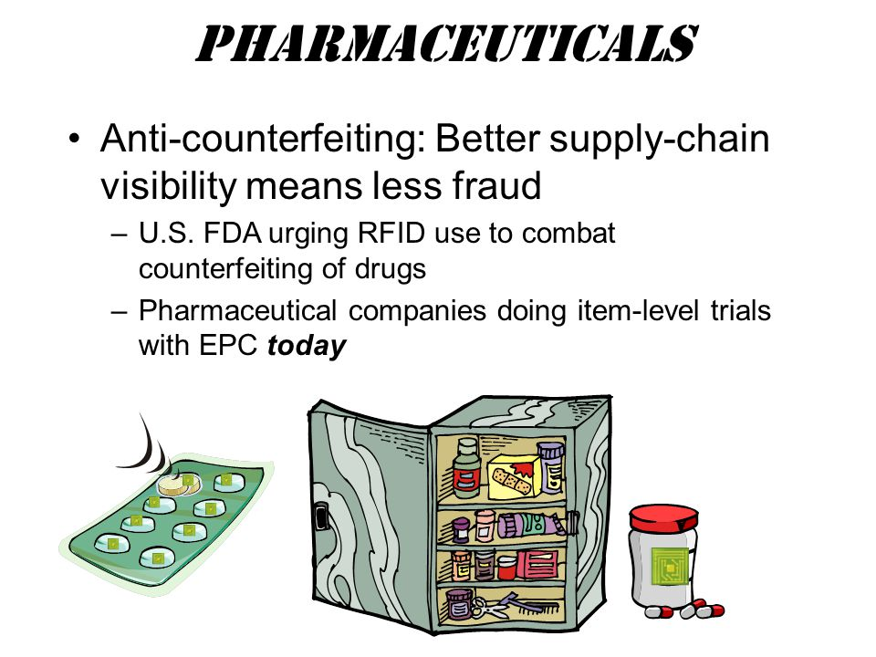 Anti-counterfeiting: Better supply-chain visibility means less fraud –U.S.