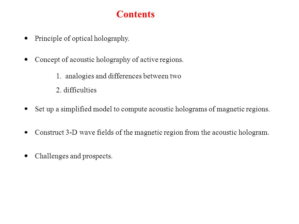 1.Set up a simplified model for scattering of acoustic waves by a magnetic region.