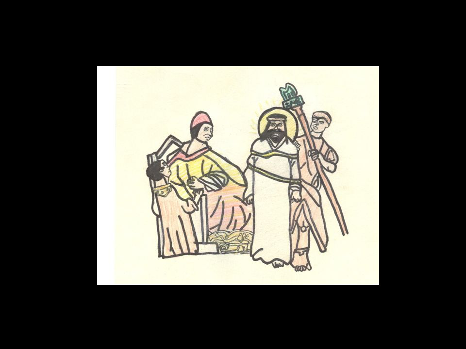 The Stations of the Cross: Art work by St.