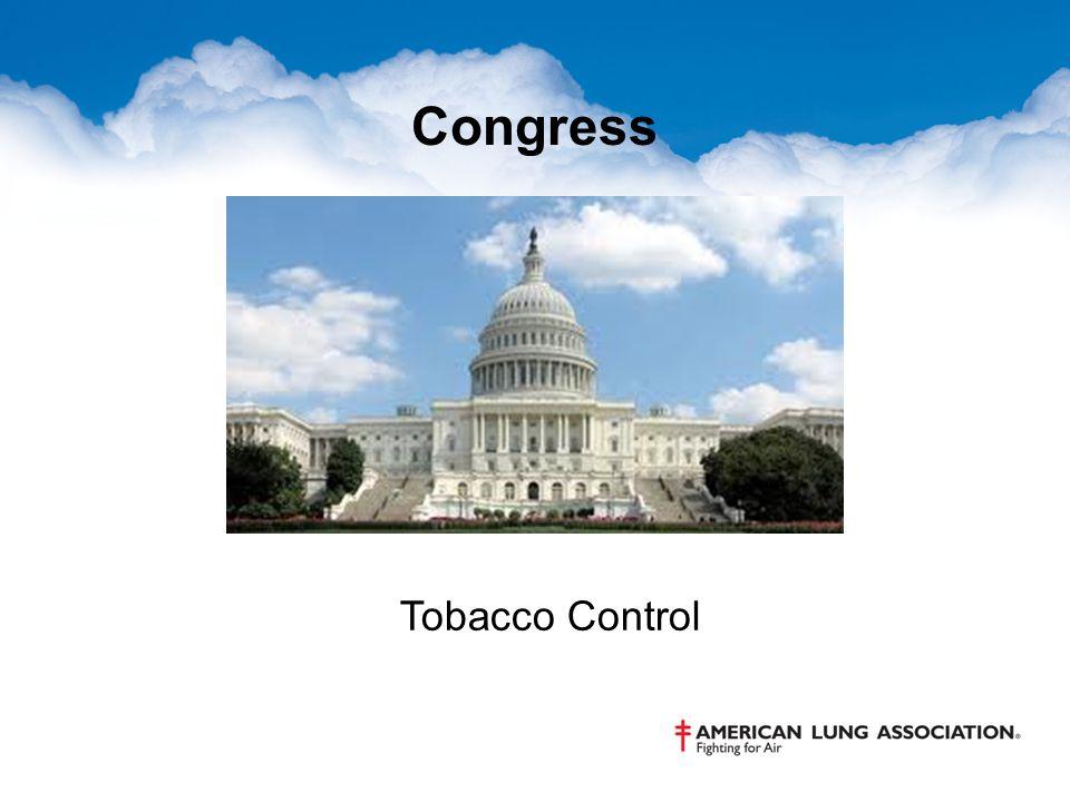 Congress Tobacco Control