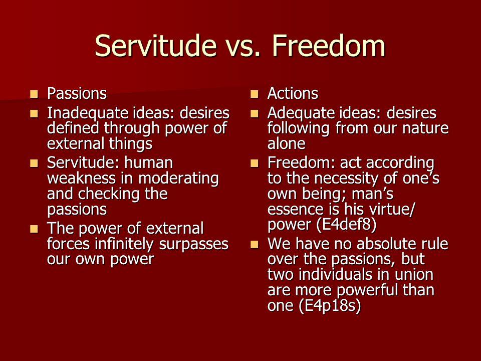 Servitude vs.