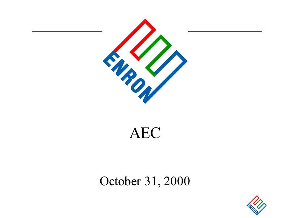 1 AEC October 31, 2000