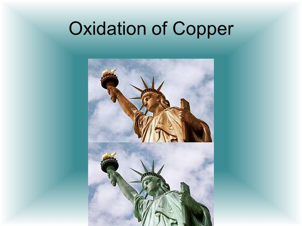Oxidation of Copper