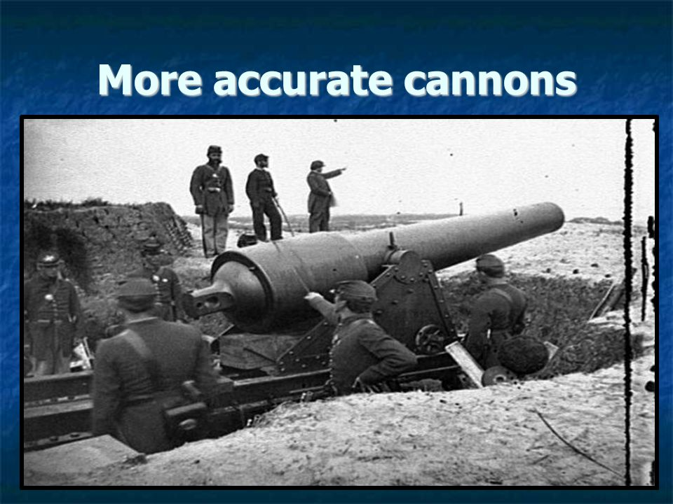 More accurate cannons