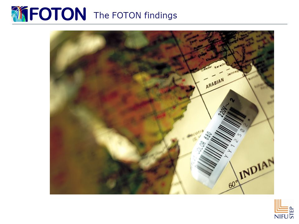 The FOTON findings