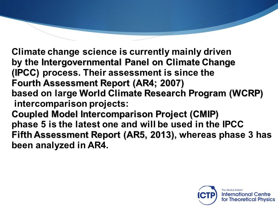 What is new in CMIP5 (IPCC AR5) compared to CMIP3 (IPCC AR4).