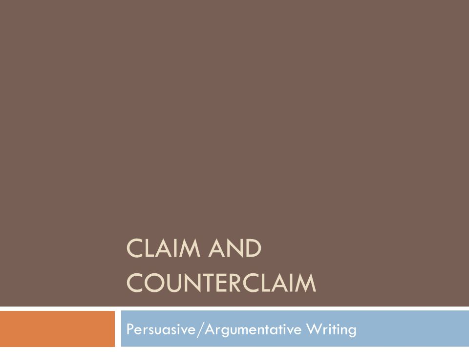 November 4 th  Write the definition:  A counter-argument is an argument opposed to your thesis, or part of your thesis.