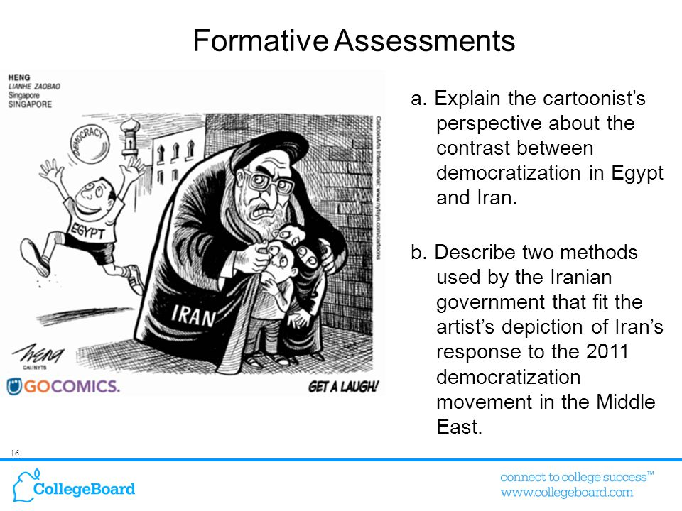 16 Formative Assessments a.