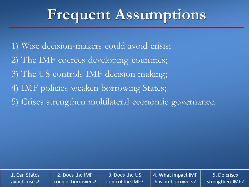 5.Do Crises Strengthen multilateral economic organizations.