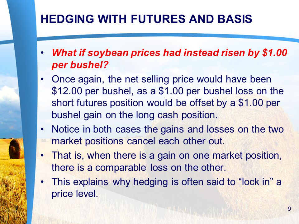 What if soybean prices had instead risen by $1.00 per bushel.