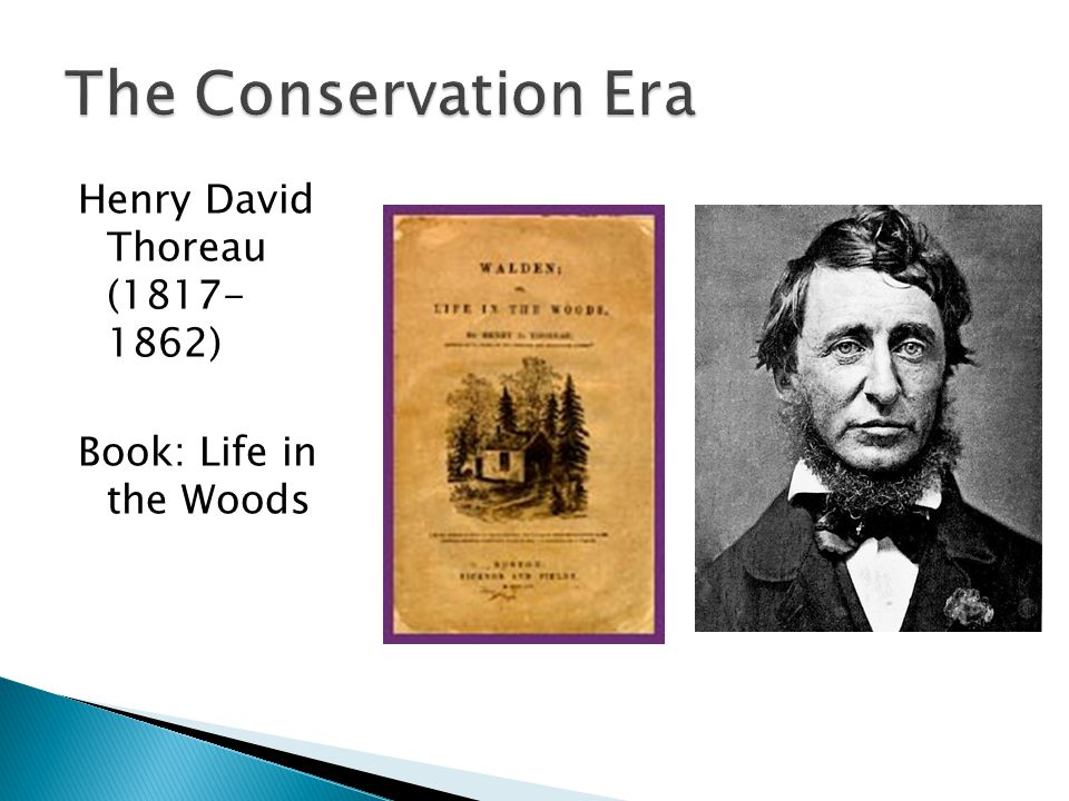 Henry David Thoreau (1817- 1862) Book: Life in the Woods