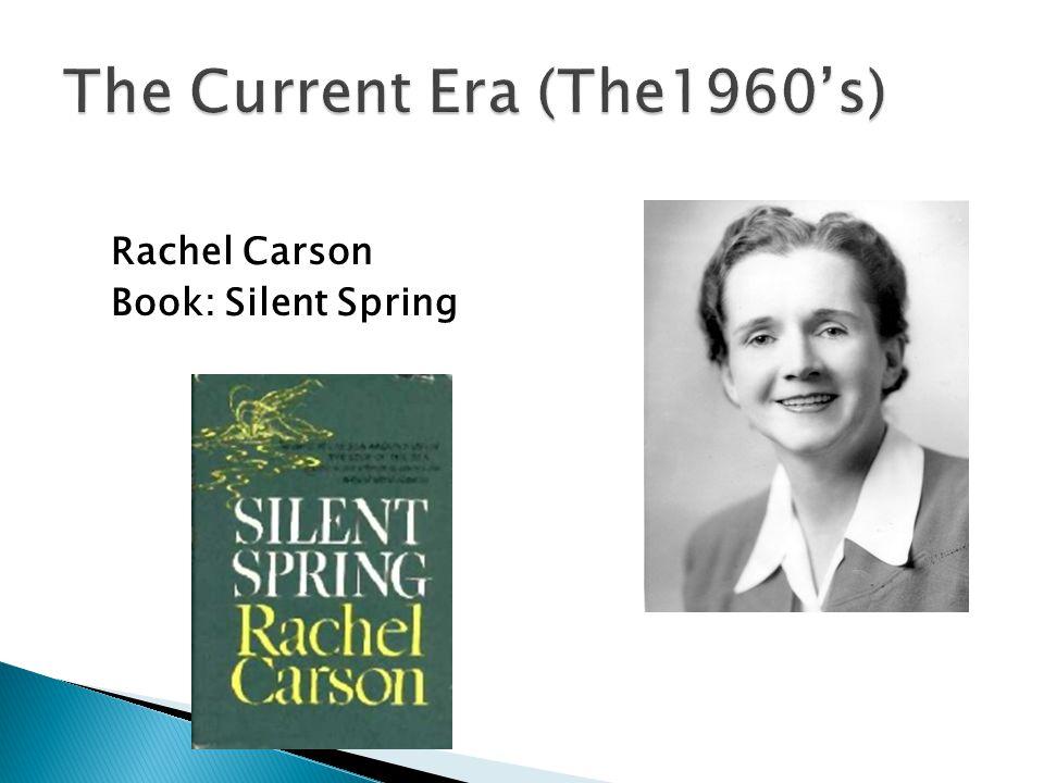 Rachel Carson Book: Silent Spring