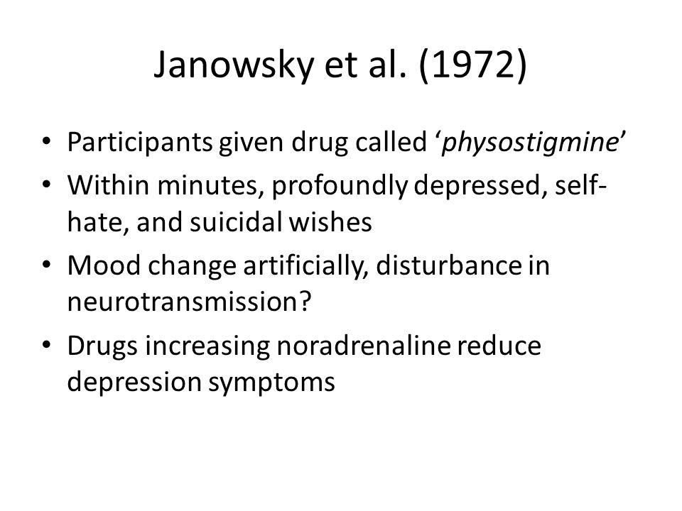 Janowsky et al.