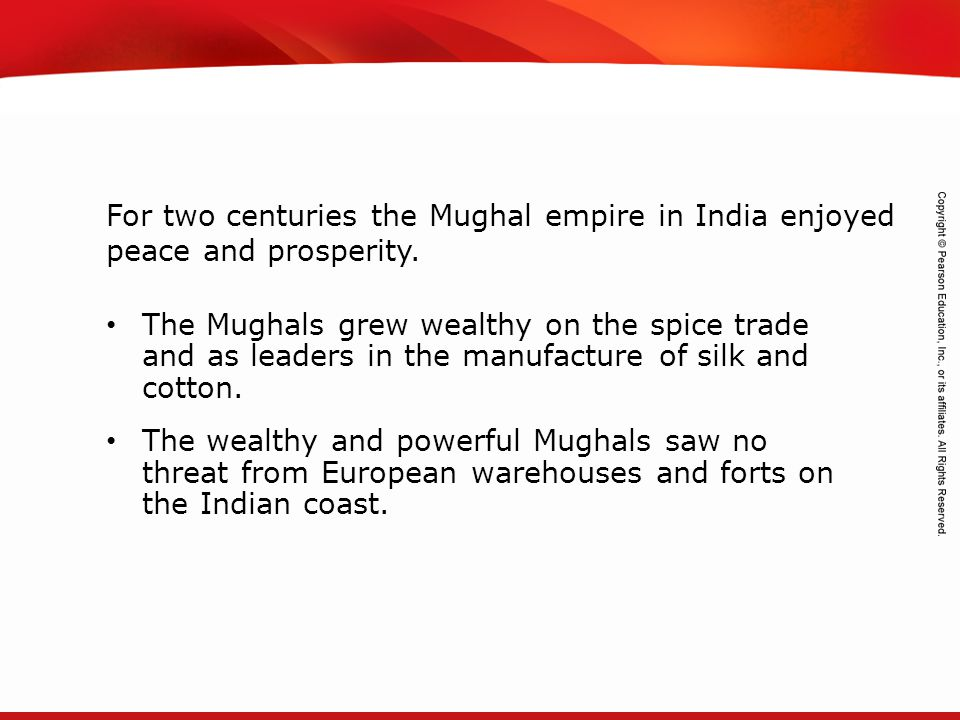 TEKS 8C: Calculate percent composition and empirical and molecular formulas. The Mughals grew wealthy on the spice trade and as leaders in the manufac