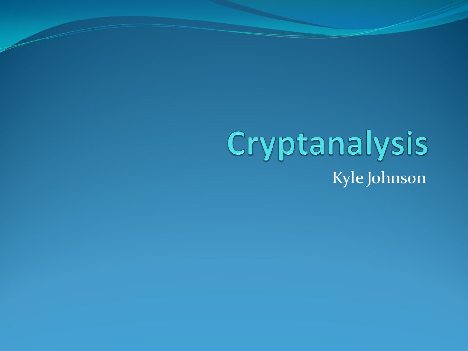 Cryptology Comprised of both Cryptography and Cryptanalysis Cryptography - which is the practice and study of techniques for secure communication in the presence of third parties Cryptanalysis - which is the art of defeating cryptographic security systems, and gaining access to the contents of encrypted messages or obtaining the key itself.