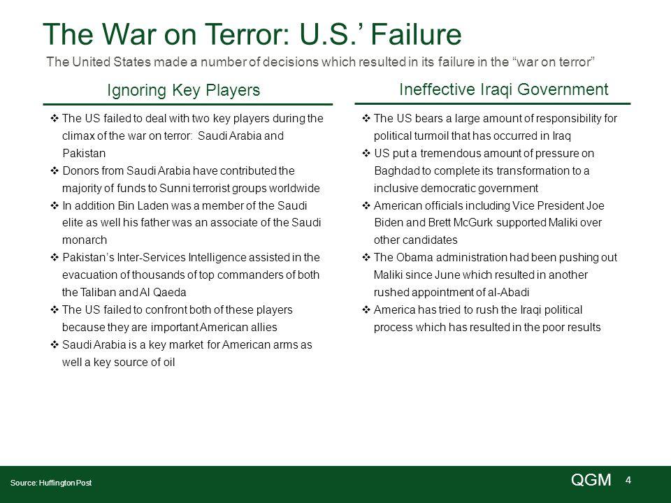 5 QGM Iraq's Leadership Will Iraq's new leadership result in change.