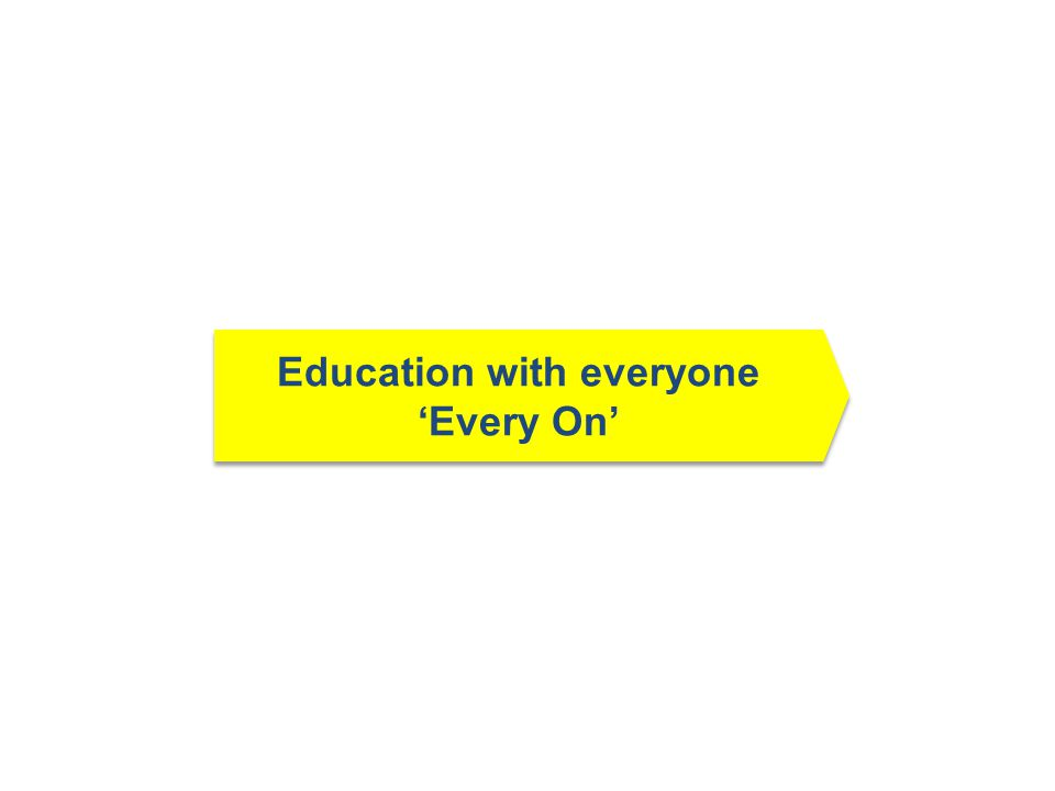 Education with everyone 'Every On'