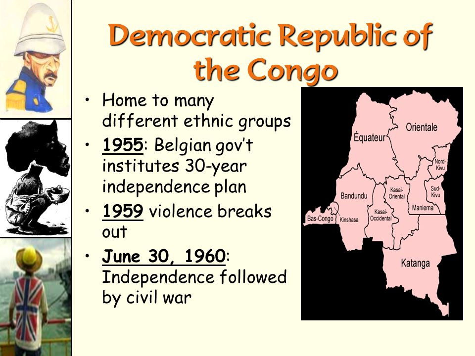 The old BelgianCongo, Formerly Zaire, Now Democratic Republic of the Congo The old Belgian Congo, Formerly Zaire, Now Democratic Republic of the Congo