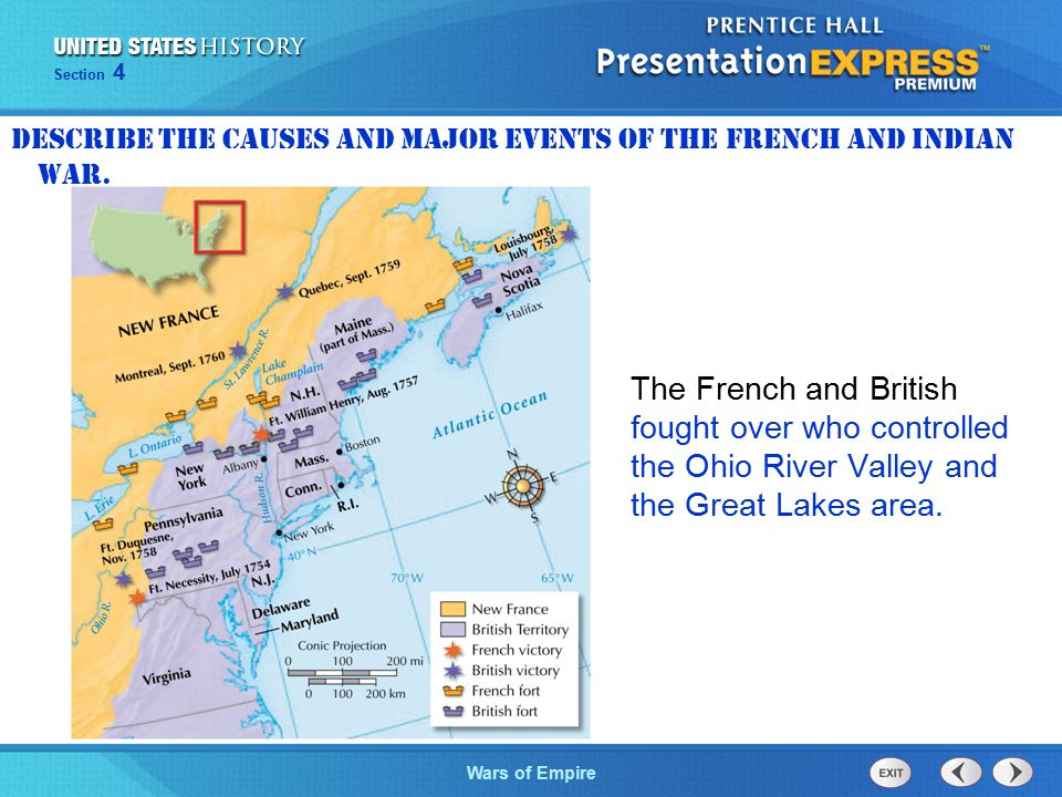 The Cold War BeginsWars of Empire Section 4 How did Great Britain's wars with France affect the American colonies.