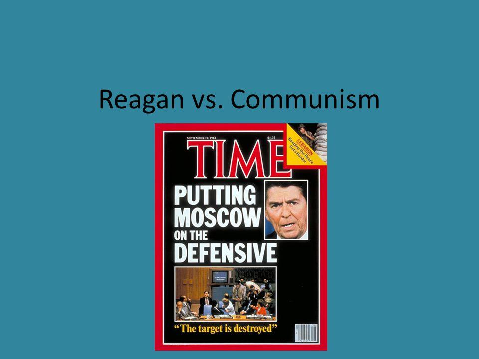Reagan vs. Communism