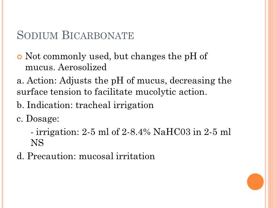 D ORNASE A LFA Side effects (does not cause bronchospasm) Pharyngitis Laryngitis Chest pain