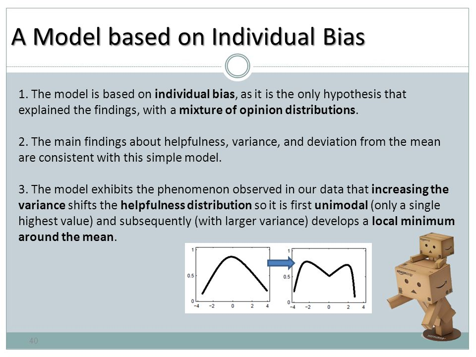 A Model based on Individual Bias 1.