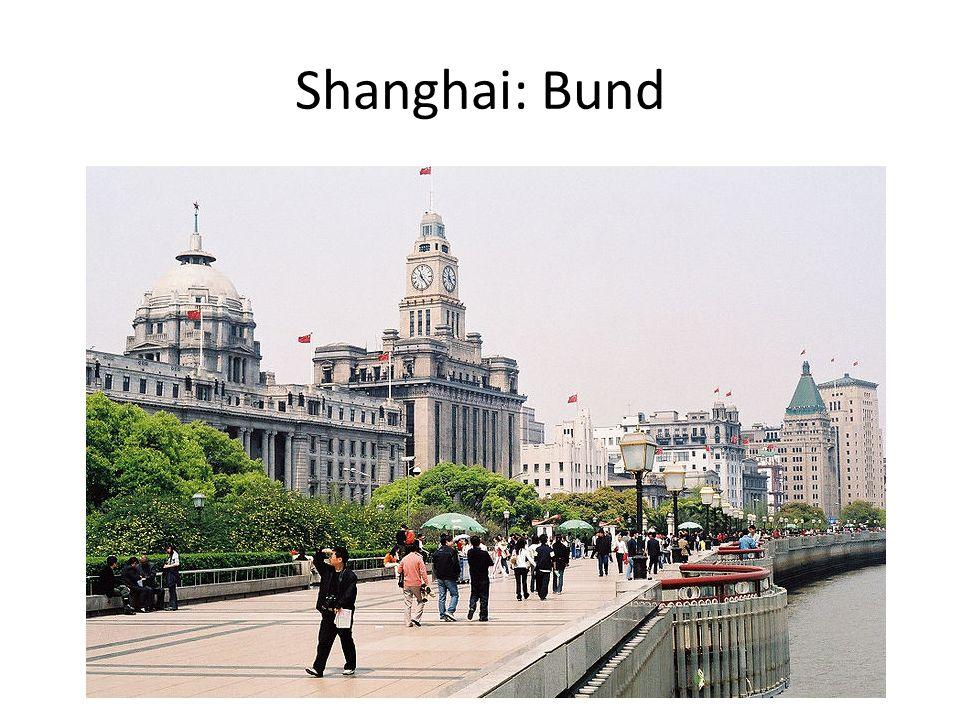 Shanghai: Bund