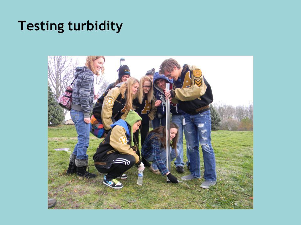 Testing turbidity