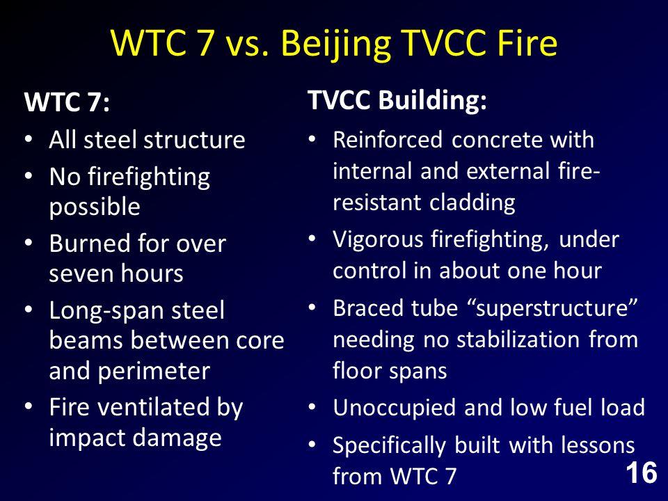 WTC 7 vs.
