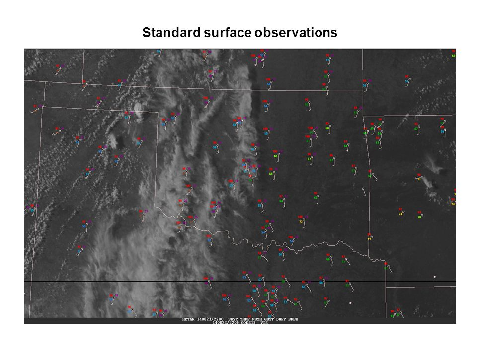 Standard surface observations