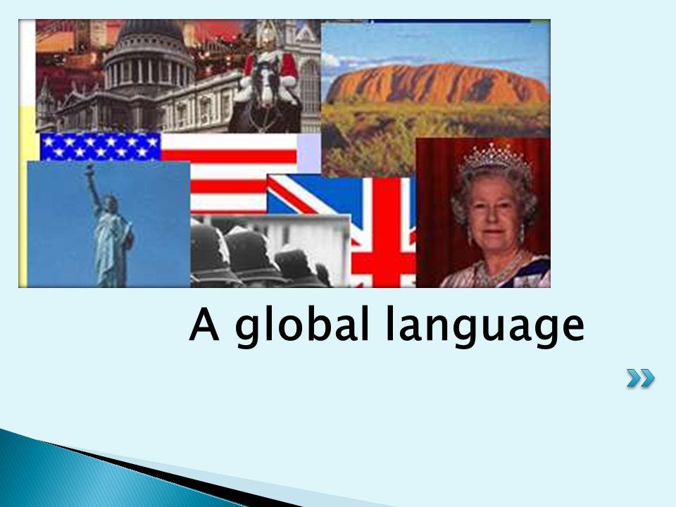 A global language