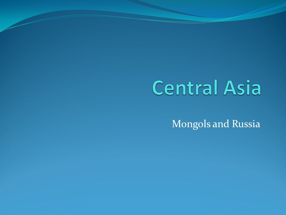 Mongols and Russia