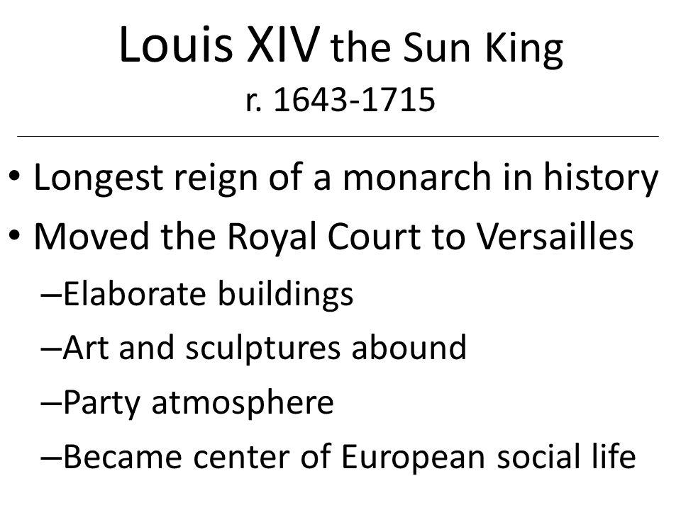 Louis XIV Bourbon Dynasty