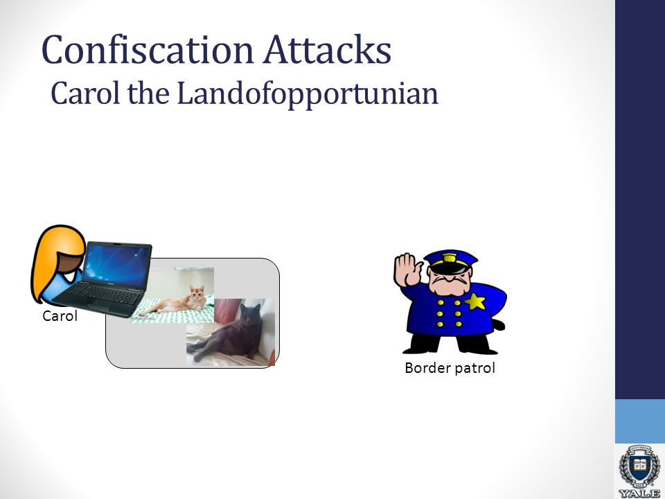 Confiscation Attacks Carol Carol the Landofopportunian Border patrol