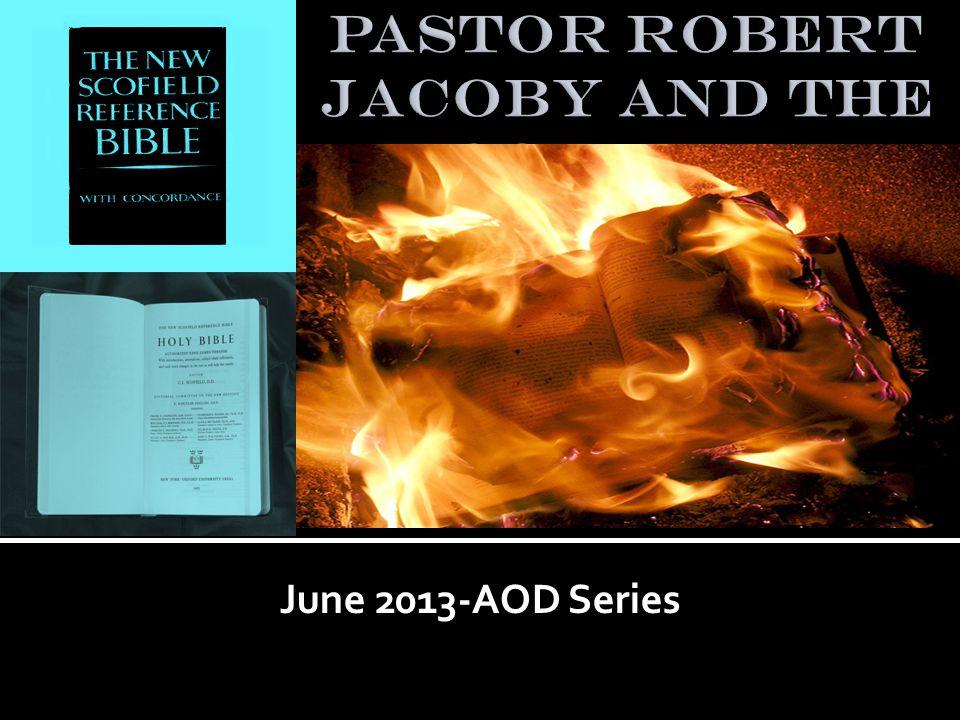 June 2013-AOD Series