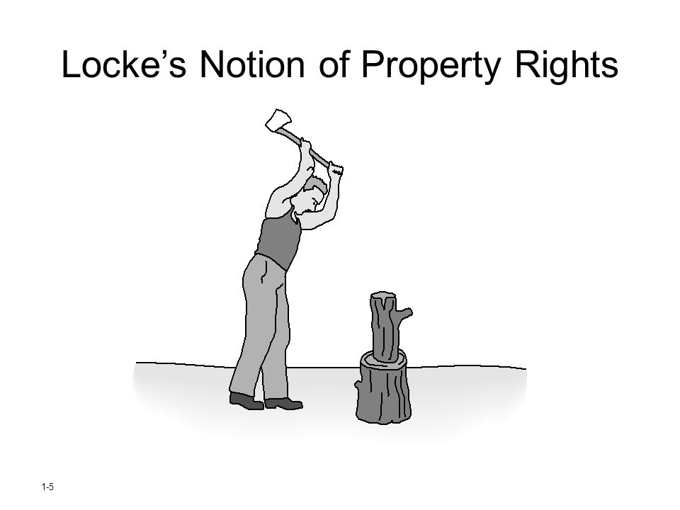 Locke's Notion of Property Rights 1-5