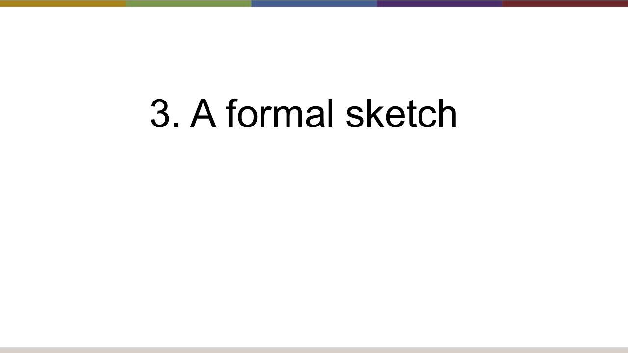 3. A formal sketch