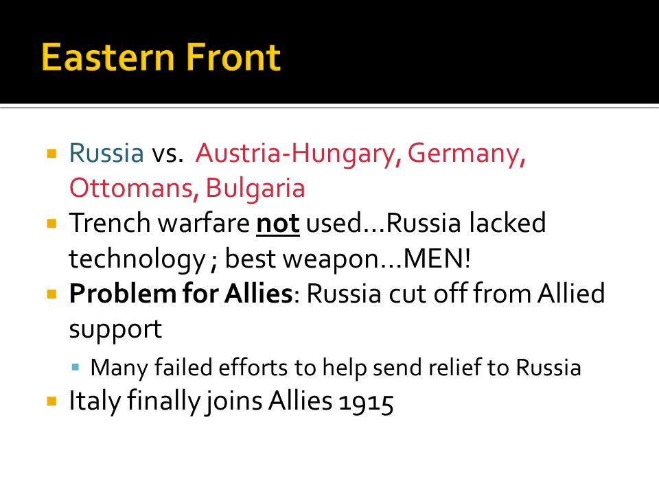  Russia vs.