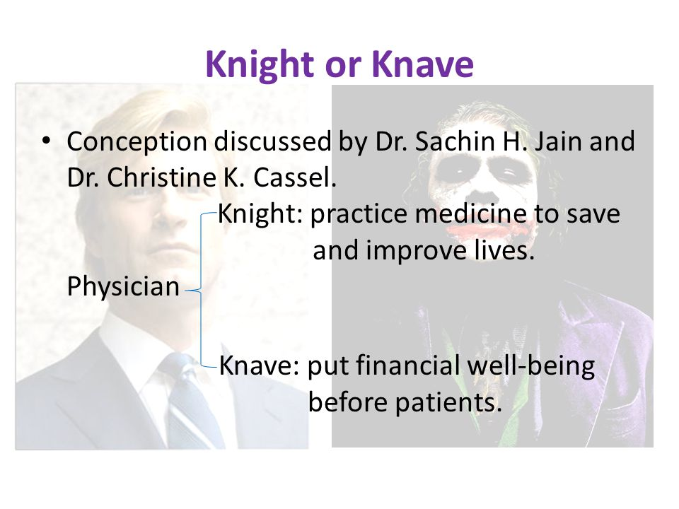 Knight or Knave Conception discussed by Dr. Sachin H.