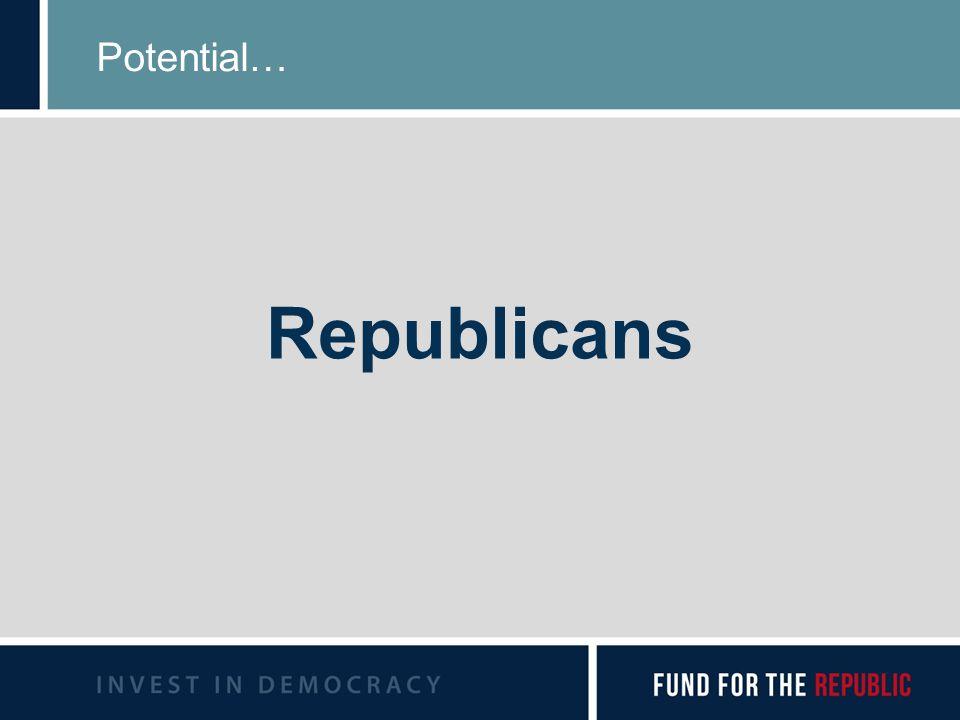 Potential… Republicans